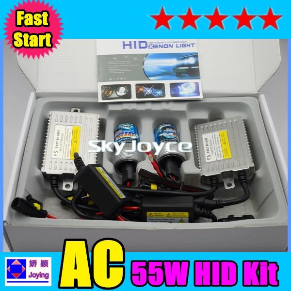 2016 New 55W  H1 H3 H7 H8 H9  H11 9005 9006 xenon hid kit fast start hid xenon kit  headlight replacement bulb kit