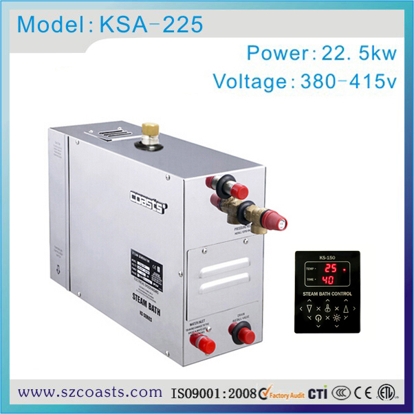 Back To Search Resultshome Improvement Spa Tubs & Sauna Rooms Frank Commerical Coasts 22.5kw 380-415v Steam Bath Generator With Two Steam Outlet Supplement The Vital Energy And Nourish Yin