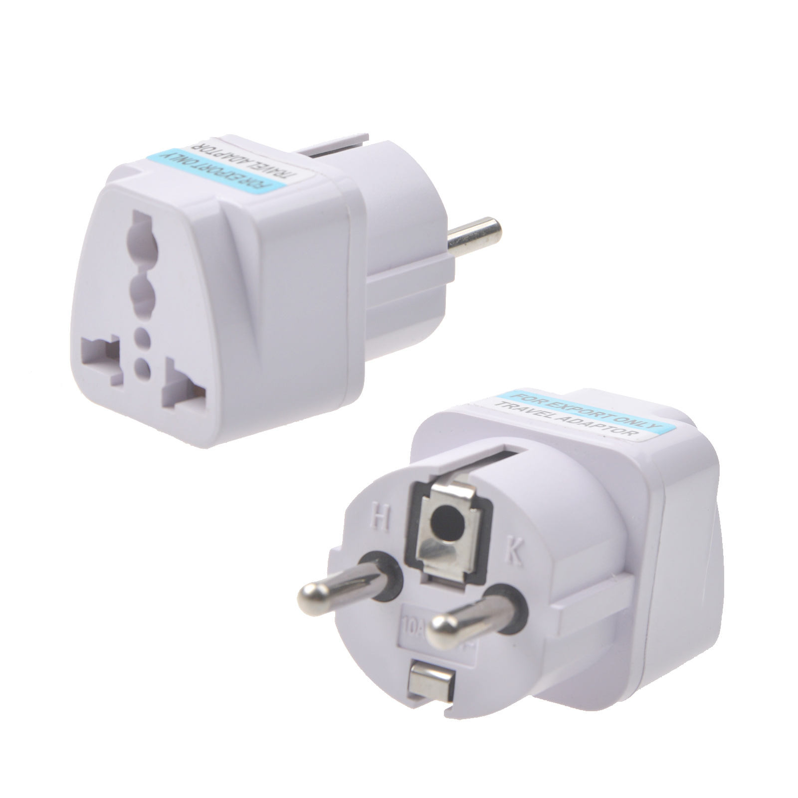 Universal EU Plug US Adapter AU Adapter UK Adapter Travelling Power Adapter 100-250V 10A