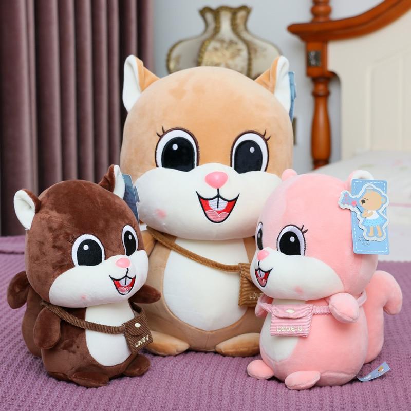 cute plush toy classic stitch plush doll car chair head cushion neck pillow gift