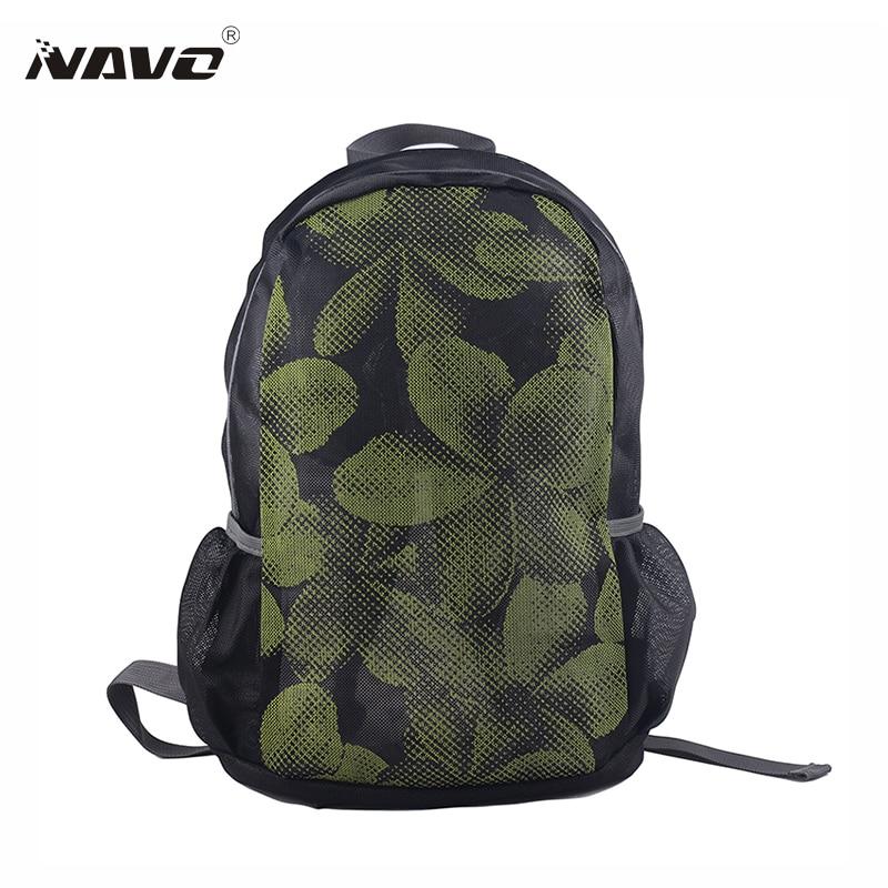 NAVO Mesh Rucksack Atmungsaktiv Reißverschluss Reiserucksäcke - Rucksäcke