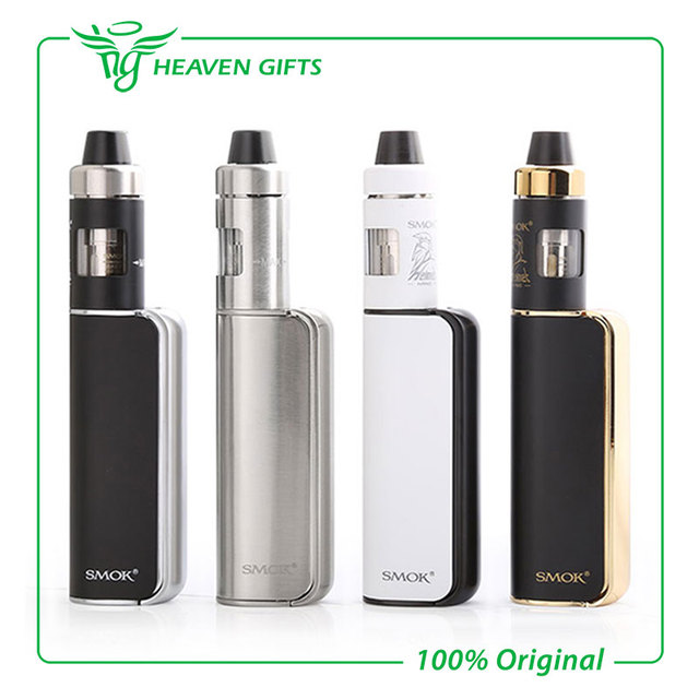 Original 60 w smok osub mini kit con 1200 mah osub mini caja MOD 60 w e 1.7 ml Casco Nano Smoktech Atomizador Vaping Kit de Inicio