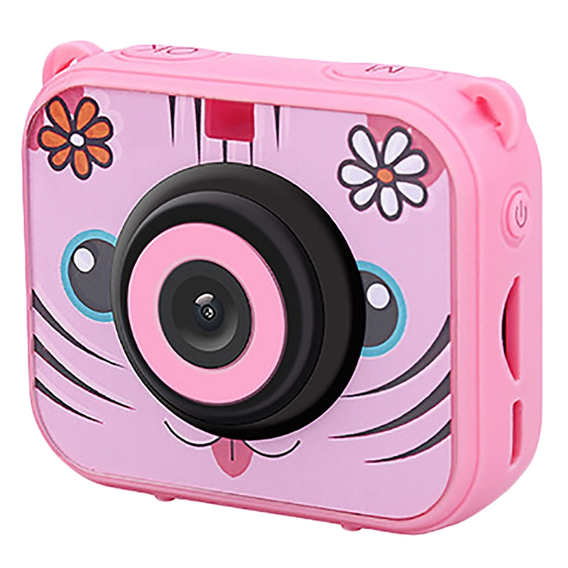 Image 2 - Cute Kids Digital Video Camera 1080p Action Sports Camera 30m Waterproof Built In Battery Gifts Present For Children Boys Girl-in 360° Video Camera from Consumer Electronics