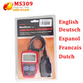 Fast Shipping Autel Maxiscan MS309 OBDII Code Reader MS309 with good quality Autel ms 309 code reader