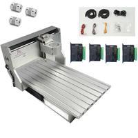 Деревообрабатывающее оборудование CNC 6040 Рама Алюминиевый металлический гравер