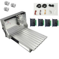 woodworking machinery CNC 6040 frame aluminum metal engraver