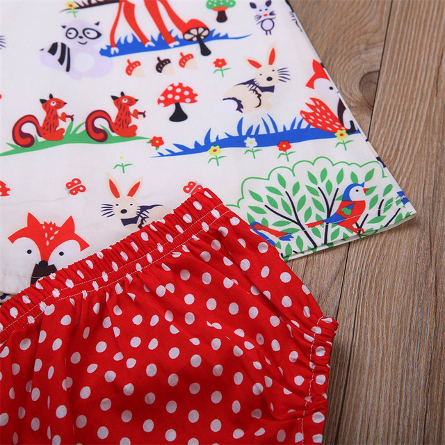 Newborn Baby Girl  Dot Shorts Outfits