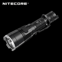 Red Dot Award Winner Nitecore MH27 1000 Lumen CREE XP L HI V3 LED Rechargeable USB Flashlight with RGB LEDs