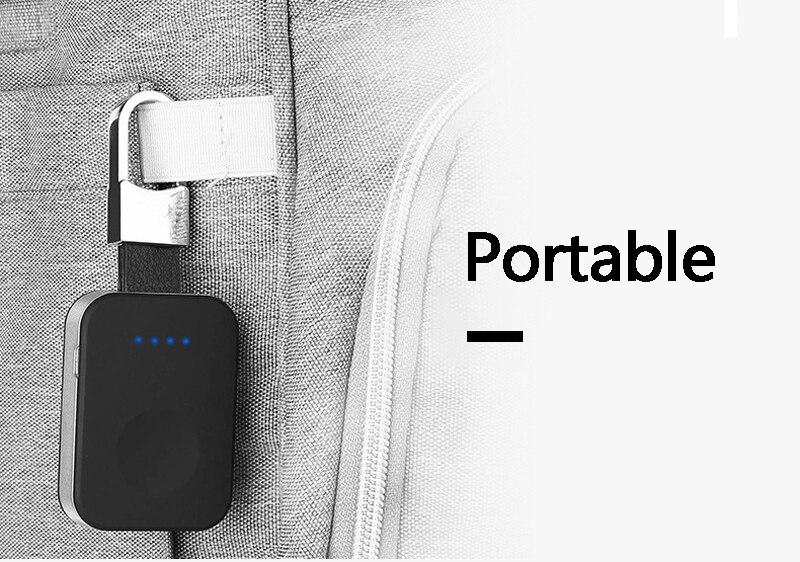 Pour Apple Montre Chargeur Magnétique Sans Fil De Charge USB Câble Adaptateur Dock Charge Montre Puissance Banque 950 mah iWatch1 2 3 38 m/42mm
