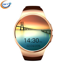 Smart watch GFT KW18 Bluetooth Armbanduhr Sim-karte Smartwatch Für Ios Android Handys Support mit Multi sprachen
