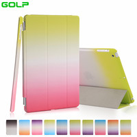 Case For IPad Mini 2 3 GOLP Detachable Perfect Fit Magentic PU Leather Cover Translucent PC