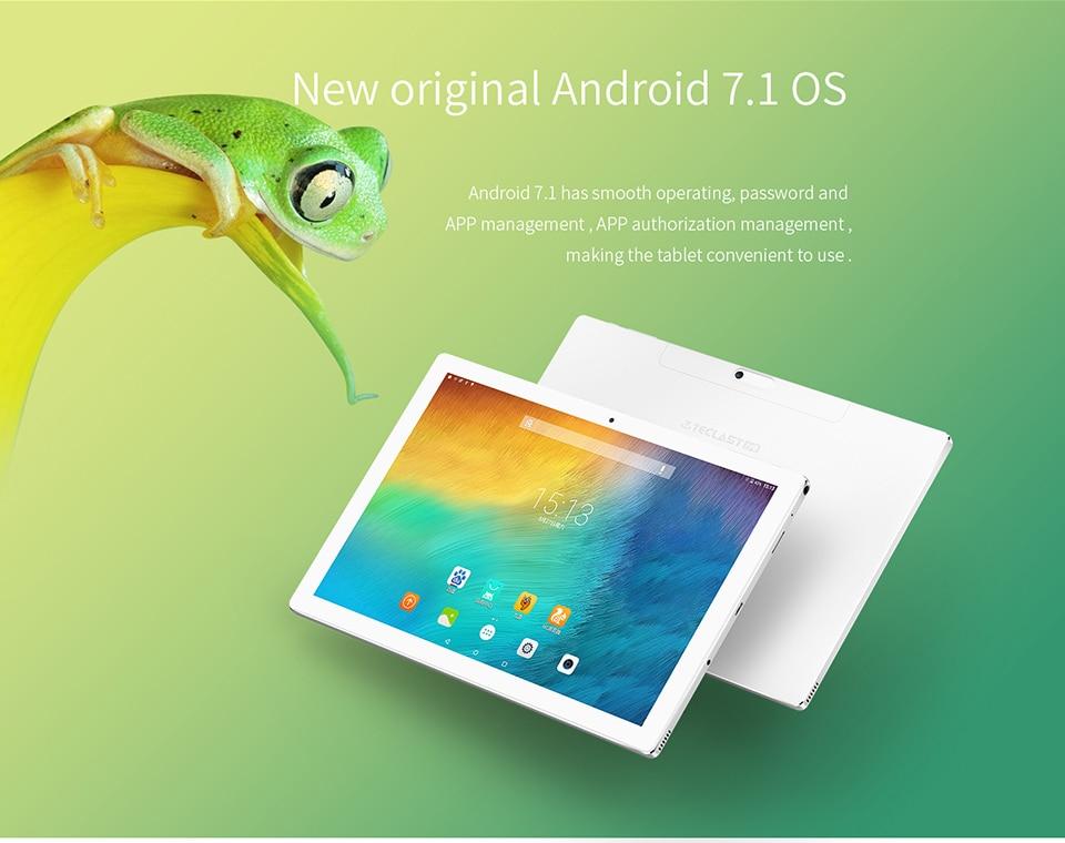 NEWEST10.1″ Teclast P10 Octa Core IPS Tablet PC 1920×1200 Android 7.0 Rockchip RK3368 Octa Core 2GB/32GB Dual WiFi Camera