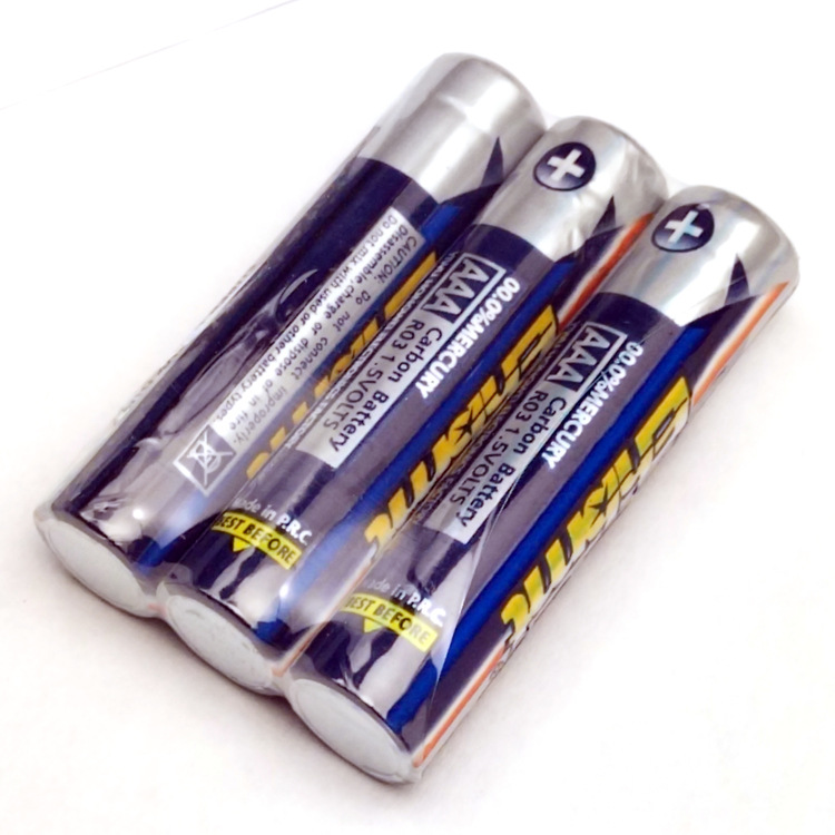 3PCS 1.5V 3AAA rechargeable battery 400mah AAA ni-mh nimh cell with tab pins for electric shaver razor cordless phone paroles lab cds