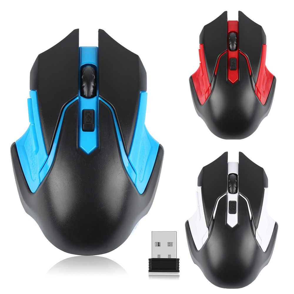 Wholesale Gaming Mouse Wireless 2.4Ghz Mini Cordless Optical Gaming Mouse Mice USB Receiver for PC Laptop Desktop Gam