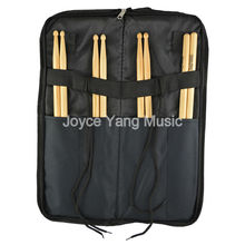 Portable Nylon Drum Stick Bag Soft Case With Shoulder Strap Outer Pocket DrumSticks Case Free Shipping Wholesales