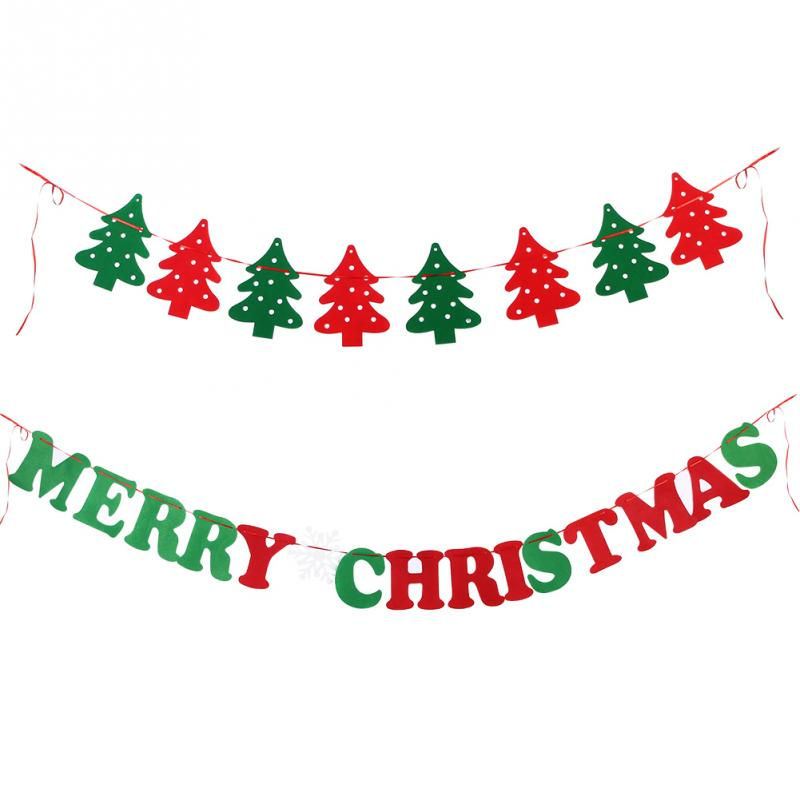 Christmas Hanging Banner Perfect Diy Decorate Home Or