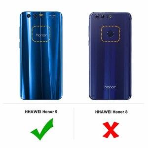 "Image 4 - RONICAN Huawei 社 honor 9 ケースシリコーンカバー honor 9 スリム透明電話保護ソフトシェル Huawei 社 honor 9 5.15"""