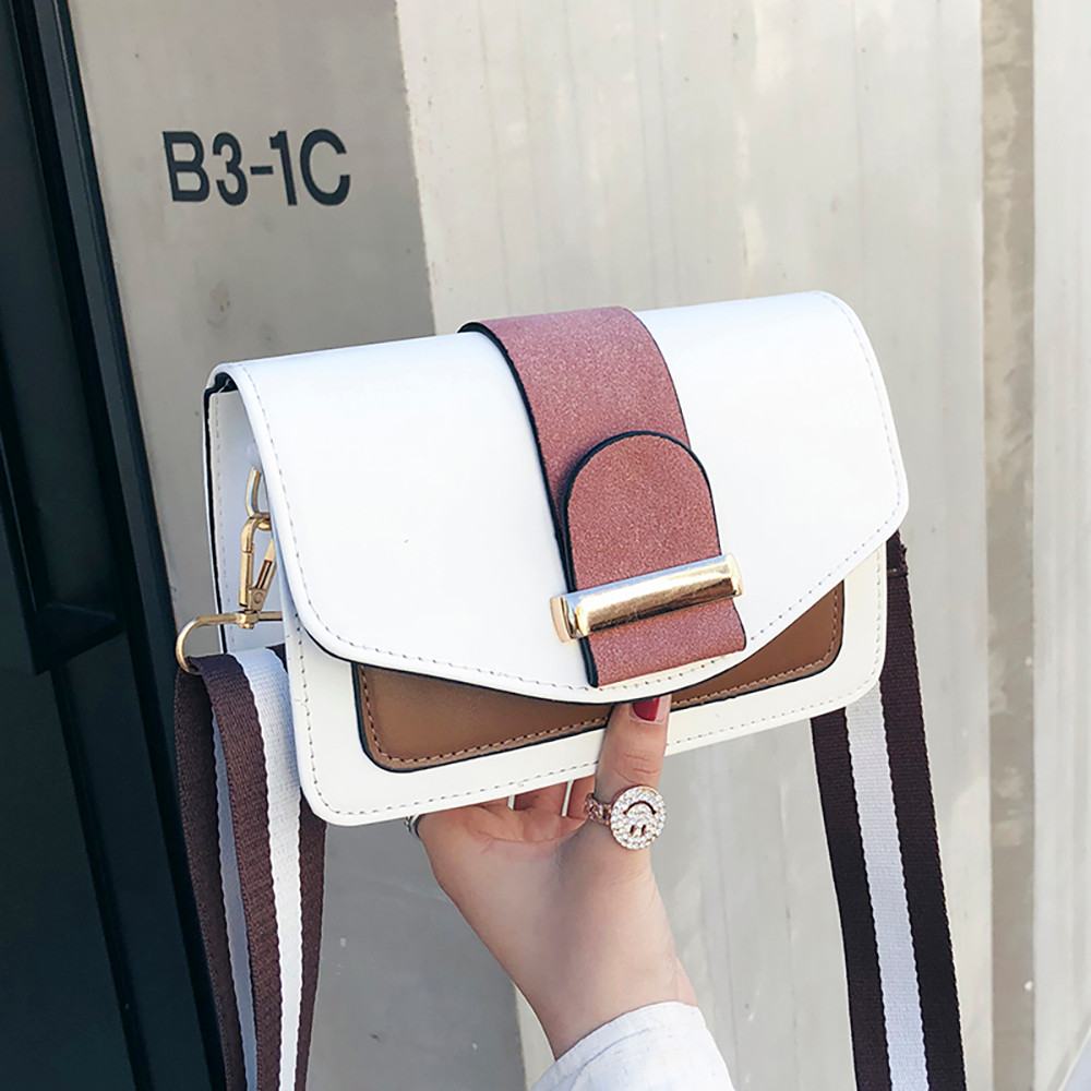 Women Bags Small Contrast Color Shoulder Wild Messenger bolsa masculina ladies bags handtassen dames bolsos mujer