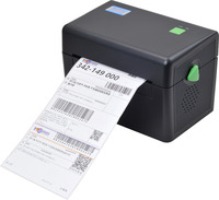 ITPP073 High Quality 108mm 4 Inch Thermal Label Barcode Printer USB Serial Port For Delivery Logistics