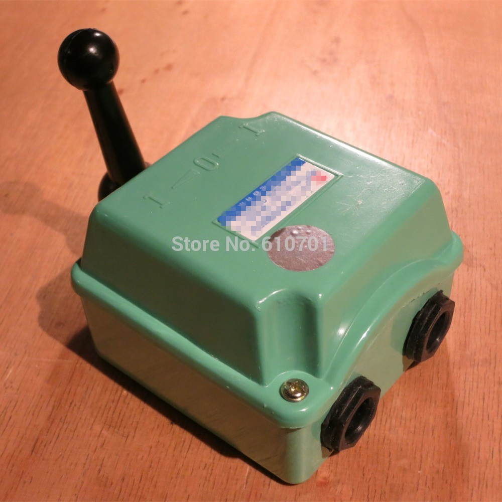 QS-15A 15A/380VAC 5.5HP Forward Reverse Cam Starter Changeover Switch QS-30A QS-60A Water Proof 60a double breakpoint contacts forward reversing switch