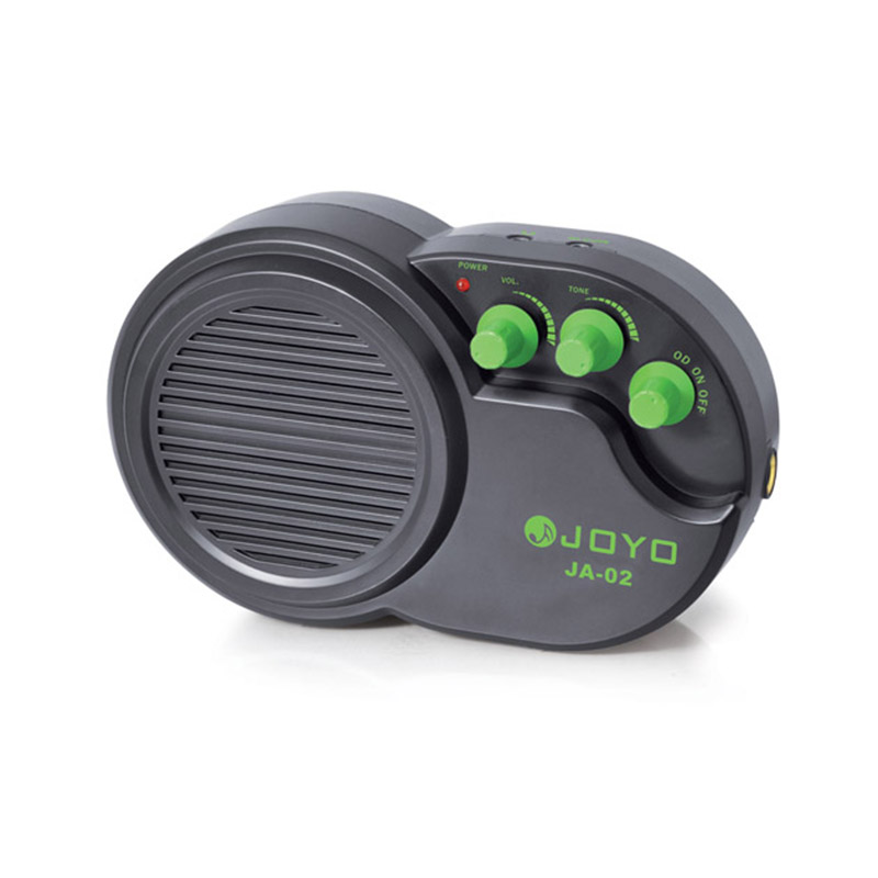 все цены на JA-02 Mini Guitar Amplifier JOYO JA02 Amp 3W MP3 Input Have Clean & Distortion Effects Guitar Accessories онлайн