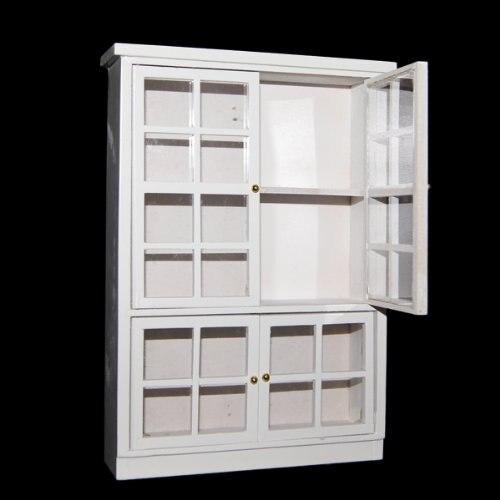 1/12 кукольная Миниатюра Мебель Кухня столовая кабинет Дисплей полка белый ...
