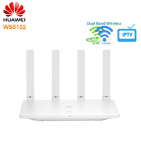 NEW HUAWEI WS5102 100M Wireless Router 2.4GHz/5GHz Dual Band WiFi Gen2 11AC Smart Home Router Support IPv6 5G Priority 4 Ports