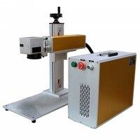 In Stock Portable 30W Fiber Laser Marking Machine For Metal Laser Engraver Cheap