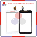"""high quality 4.3"""" For LG Optimus L7 II 2 Dual P715 P716 Touch Screen Digitizer Sensor Front Glass Lens panel Black white"""
