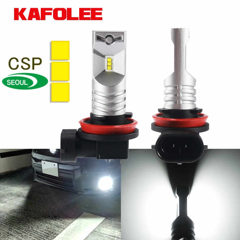 KAGOLEE Car Light 2 Pcs Led H11 H8 H9 9005 HB3 H10 H16JP 9145 9140 9006 HB4 Car Fog lamp Bulbs 3600lm CSP Y19 12V 24V