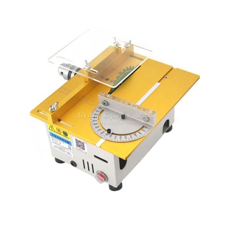 Banc multifonction de précision Miniature scie petite machine de découpe T5/T6