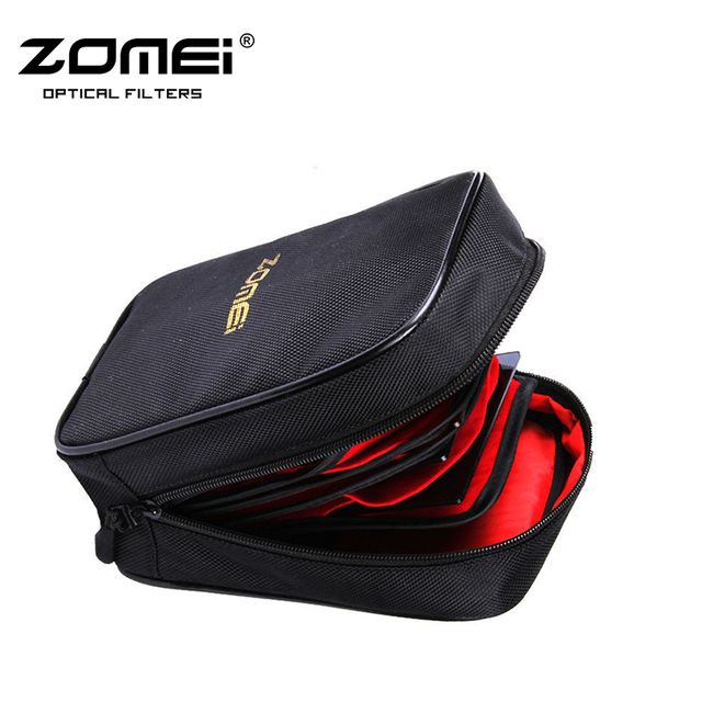 Zomei Black Color 16 pieces Pocket Camera Filter Wallet Case Pouch storage bag for Circular or Square Filters