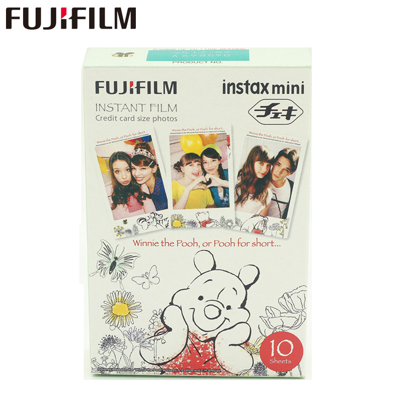 Galleria fotografica Fujifilm Fuji Instax Mini 8 Film 10 Sheets For 8 50s 7s 90 25 Share SP-1 Instant Cameras Winnie Pooh Free Shipping