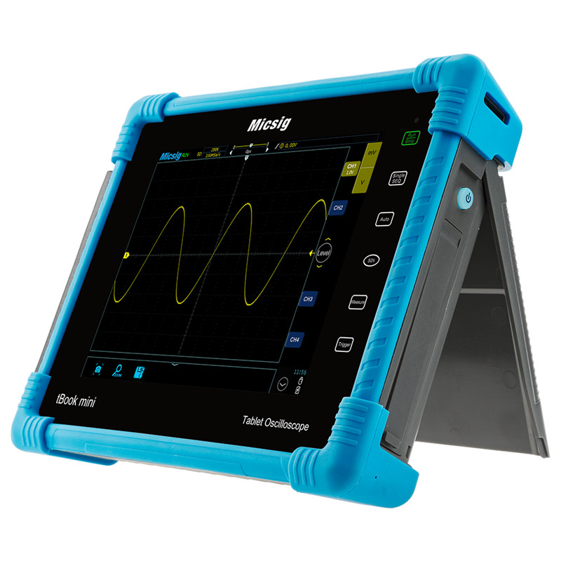Micsig digital tablet osciloscópio 100 mhz 2ch 4ch handheld osciloscópio automotivo osciloscópio osciloscópio osciloscópio to1000