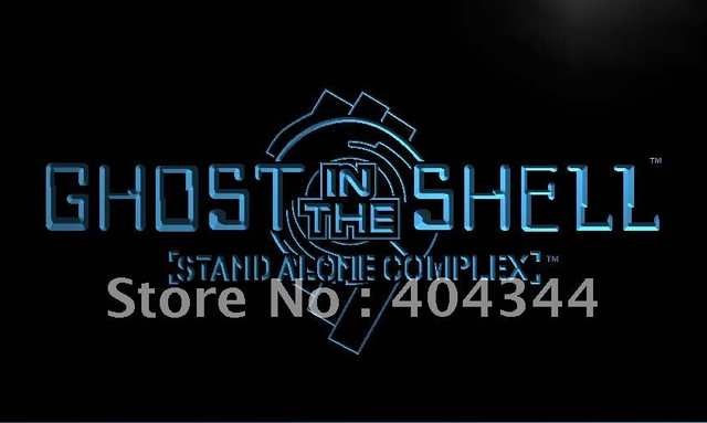 Lc193 Ghost In The Shell Led Neon Light Sign In Plaques Signs From Home Garden On Aliexpress