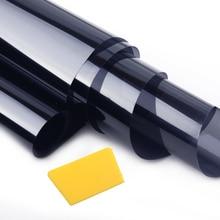 CITALL Автомобильная черная ПЭТ универсальная 35% оконная Тонировочная пленка рулон Тонировочная Крышка для авто автомобиля домашний офис стекло