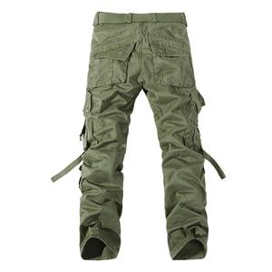 Image 2 - Top qualität männer military camo cargo hosen freizeit baumwolle hosen cmbat camouflage overalls 28 40 AYG69