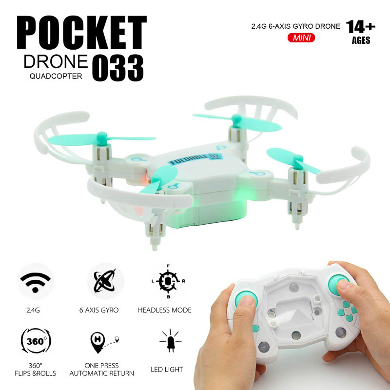 NASHAN 2.4G 4CH Foldable Dron Flying Camera Drone Mini Drone Motor 6-Axis Gryo RC Drones With hd Camera Headless Mode Side Fly