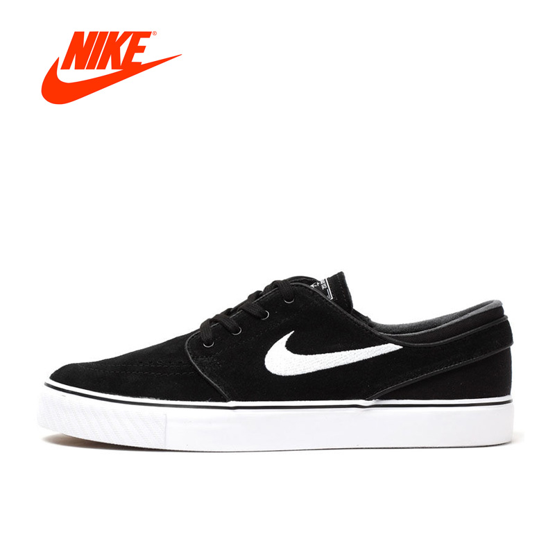 Original New Arrival Authentic Nike Zoom Stefan Janoski SB Skateboarding Shoes Sports Sneakers Classique Comfortable кеды кроссовки низкие nike zoom stefan janoski prem txt black white green glow
