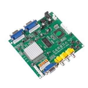 Image 2 - Аркадная игра RGB/CGA/EGA/YUV в двойной VGA HD видео конвертер плата адаптера GBS 8220
