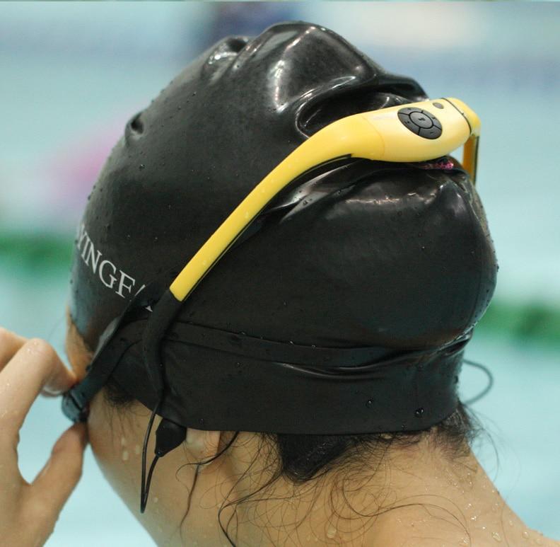 Tayogo Swimming Waterproof MP3 Music Player headphones Sports IPX8 bluetooth with FM radio bluetooth Pedometer for Swimming Mp3 ks 509 mp3 player stereo headset headphones w tf card slot fm black