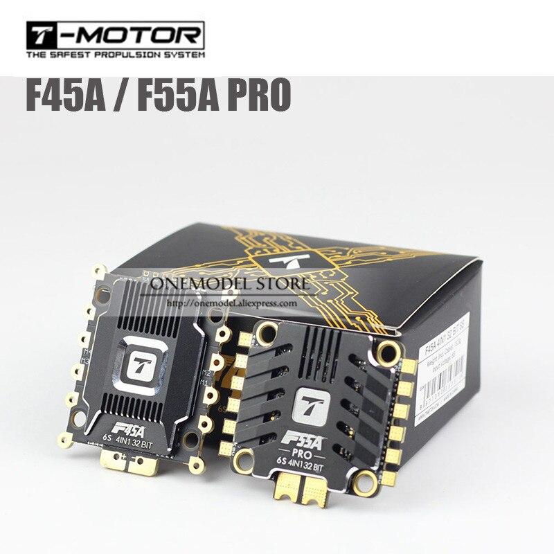 Oyuncaklar ve Hobi Ürünleri'ten Parçalar ve Aksesuarlar'de Yeni varış T Motor F45A pro F55A 4 in 1 ESC Elektronik Hız Kontrol Cihazı için uyumlu Tmotor F40 F60 pro II motorlar'da  Grup 1