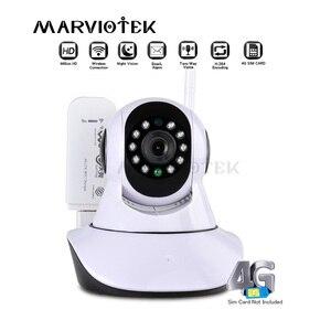 Cámara IP de seguridad para el hogar, inalámbrica, infrarroja inteligente, WiFi, Audio HD, grabación de vigilancia, CCTV, 3G, ranura para tarjeta sim, P2P