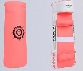 Artificial leather fitness taekwondo karate kick boxing armguard foot targets hands protector hand target armfuls