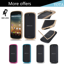 DER-LANS New Yota Phone 2 Ultrathin Aluminum Mobile Phone Frame Protective Case for Yotaphone 2 Metal Bumper Buckle Case Cover
