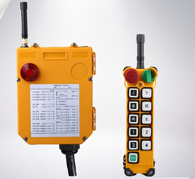 F24 10d 24 v 36 v 48 v 220 v 380 v industriale for Paranco elettrico telecomando senza fili