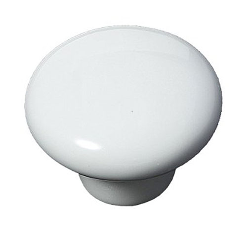 2pcs White Round Ceramic Cupboard Knob Drawer Cabinet Pull Handle S Best Selling