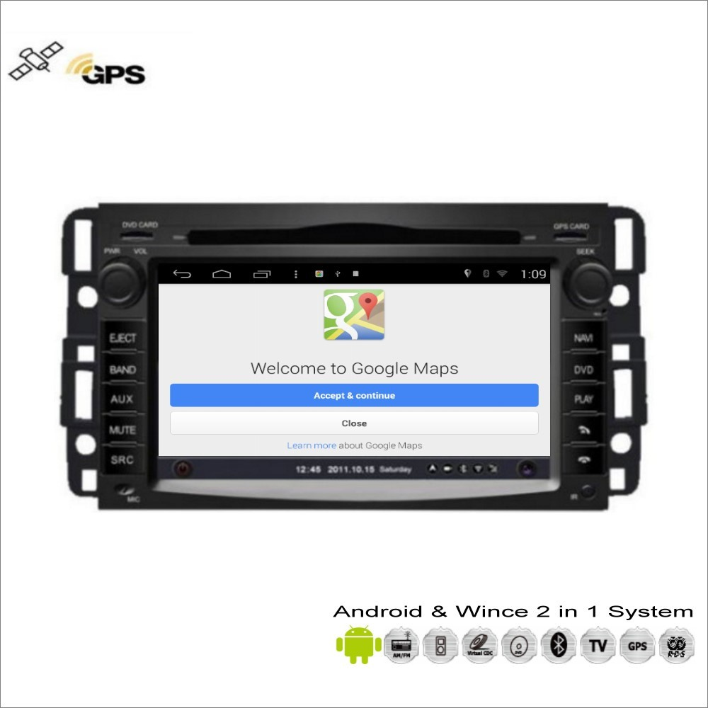 Aliexpress com buy car android multimedia for chevrolet suburban express traverse radio cd dvd player gps navi map navigation audio video stereo from