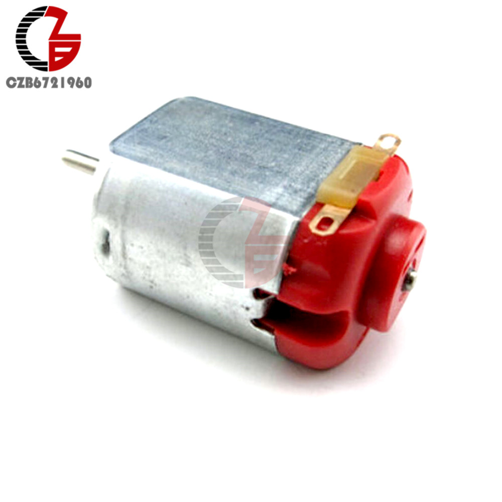 10Pcs R130 DC Motor 130 Hobby Micro Motor DC 3-6V 0.35-0.4A 8000 RPM for Toy RC Card