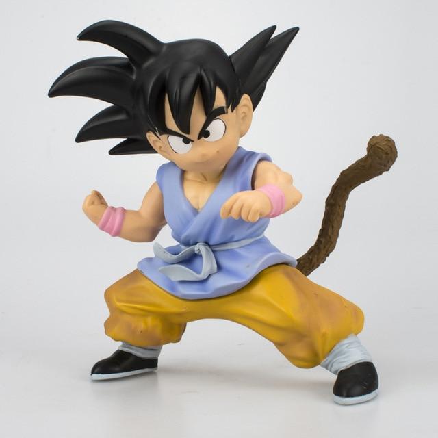 Akira Toriyama 20 centímetros Dragon Ball Super Saiyan Goku DBZ PVC Action Figure Collectible UM Modelo Mundial de Artes Marciais brinquedo L1255